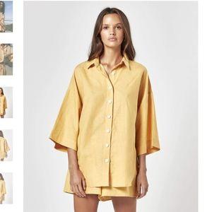 CHARLIE HOLIDAY - NWT Harlow Oversized Shirt
